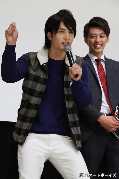 中村さんの変身ポーズにまつわる面白エピソードに竹内さんも大笑い