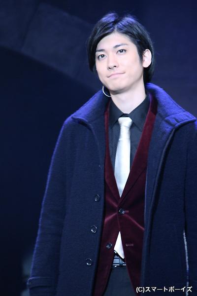 ステージ上でも一慶さんの美白が目を引きました