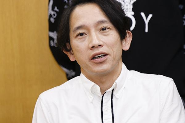 小次郎法師役の松田洋治さん