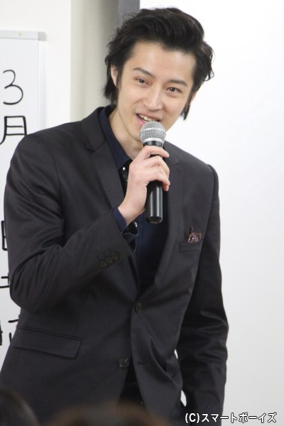 スペシャルゲストの吉田友一さん!! 会場内に歓声が響き渡りました