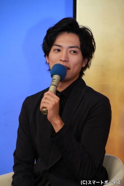 連続時代劇ドラマ初出演の桐山さん。江戸時代でも色男役に挑みます!