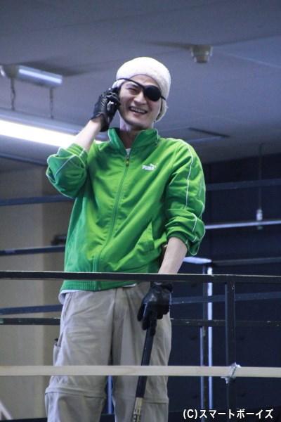 真島吾朗役の窪塚さん。キレっぷりの演技に注目です