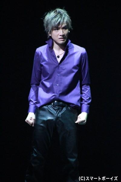 田中シンジ役の細貝圭さん