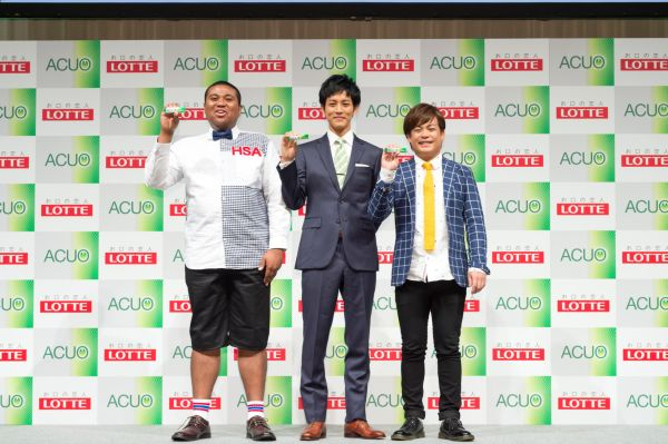 (左から)アントニーさん、松坂桃李さん、大野大介さん