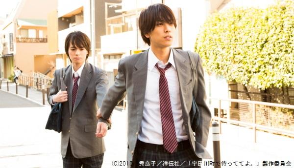 黒羽麻璃央さん(右)と横田龍儀さん、高校生同士の思春期ラブストーリー!