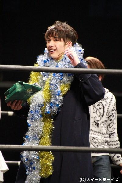 「ファンタジスタ賞」「観客賞」の二冠を獲得した吉村さん