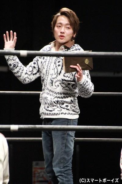 参加者では唯一、本業がシンガーソングライターの紘毅さんがMVP受賞!
