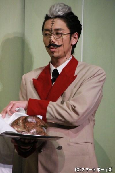 虎狼死家左々右エ門役の富田翔さん