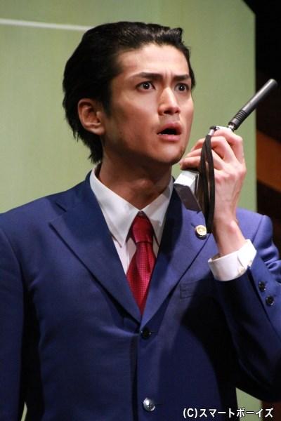 成歩堂龍一役の渡辺大輔さん