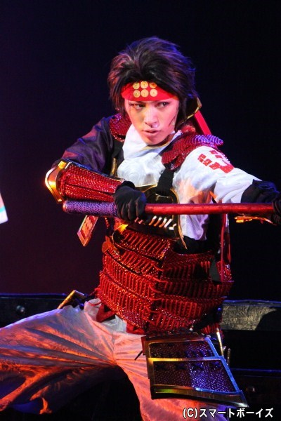 真田幸村役・安西慎太郎さんの迫力ある槍さばきに目を奪われます!