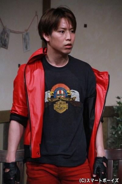 ガルレッド役の鎌苅健太さん