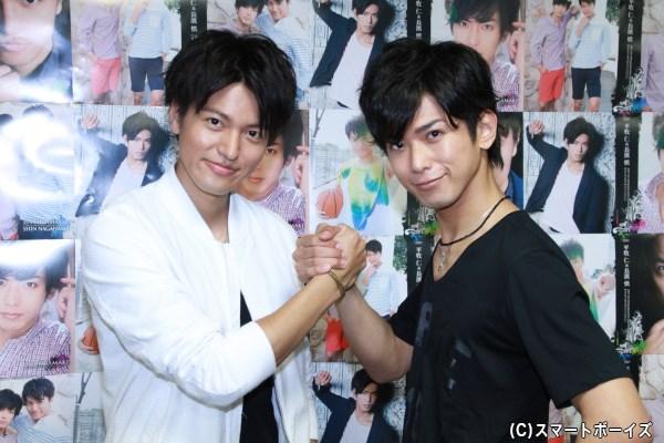 平牧さんと長濱さんによる固い握手! これぞ友情のイマジネーション!!