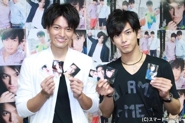 お気に入りのカードを披露しますが、長濱さんは3枚選んだうち2枚が平牧さんのカードでした