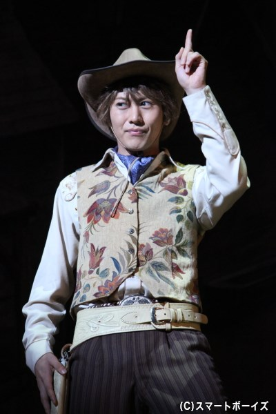 自称二枚目俳優のルコックを演じる太田基裕さん