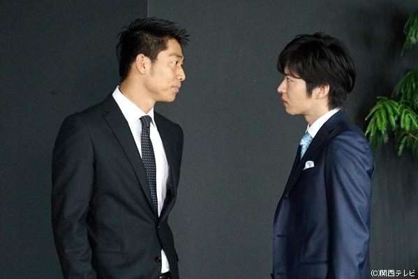 田中圭さん(右)演じる濱田直紀は、タツヤを蹴落とそうと様々な手を使います