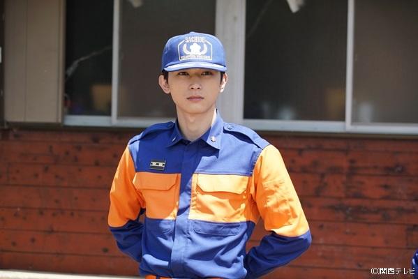 タツヤと同じ消防団に属する、松山航平役の吉沢亮さん