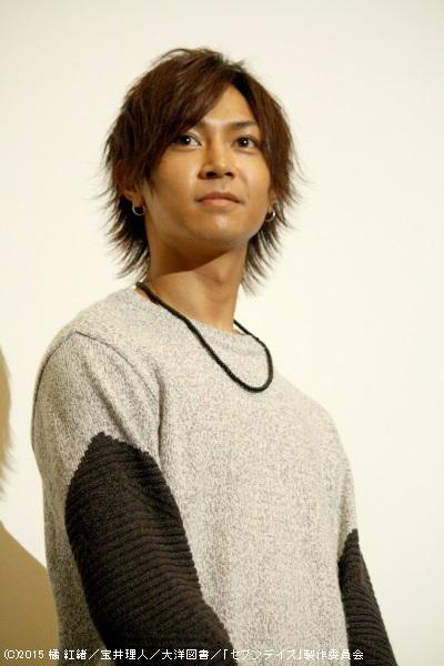 弓道部3年、美形ながら性格は平凡な篠 弓弦役の山田ジェームス武さん