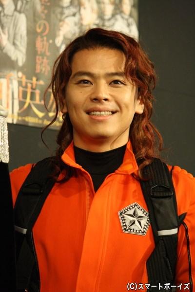 ヤン率いる自由惑星同盟軍の名戦闘員、オリビエ・ポプラン役の中川晃教さん