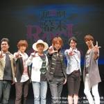 (左より)山岸拓生さん、佐々木喜英さん、矢田悠祐さん、良知真次さん、輝馬さん、小谷嘉一さん