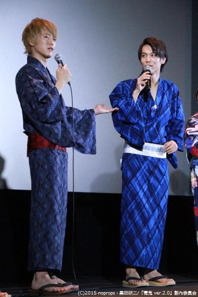 松島さんが中川さんをベタボメしますが、撮影中は中川さんを褒めてくれなかったようで、違和感アリアリとのこと