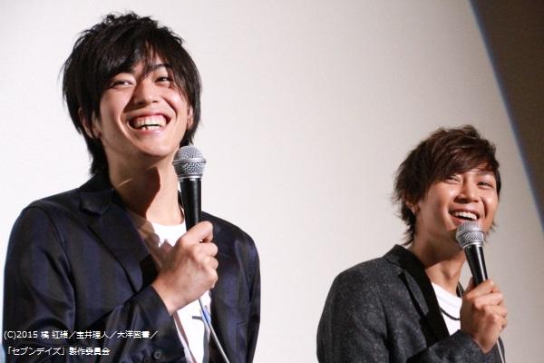 この日は山田さんの香水を廣瀬さんが借りて登壇。 山田さんは「同じ匂いで気持ち悪いよ」と廣瀬さんに突っ込むシーンも