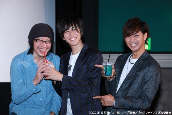 その直後、横井監督にもドリンクを飲ませてあげる光景に、会場は爆笑の渦に包まれていました