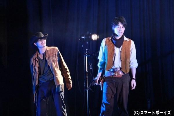 根本さんと川隅さんのキレのあるガンアクションにファンも魅了したのでは?