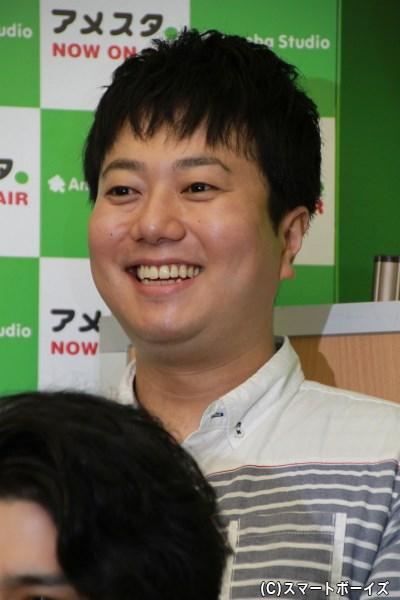 江島長門役の石井智也さん