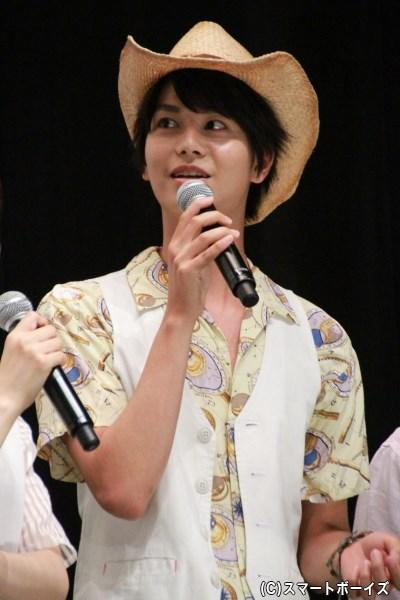 スターニンジャー/キンジ・タキガワ役の多和田秀弥さん