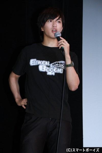 野崎雄司役の石渡さん