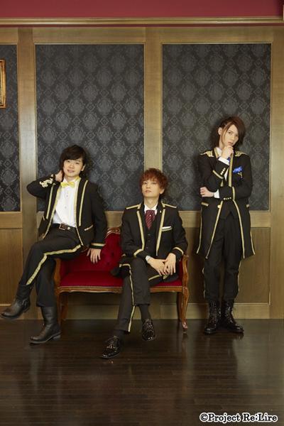 個性の異なる3人の王子がつむぐ、童話の世界へ