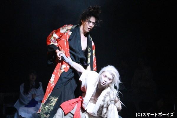 富田さん演じる白狐丸と林野さん演じる瀬戸との対決で物語はクライマックスへ!