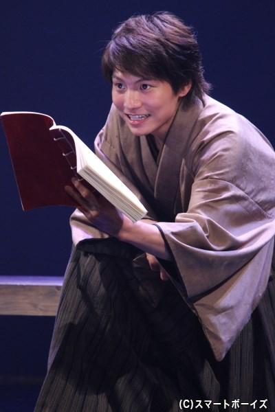 石田三成/徳川家康役の宮﨑秋人さん