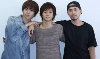 (写真左より)太田将熙さん、石原壮馬さん、平埜生成さん