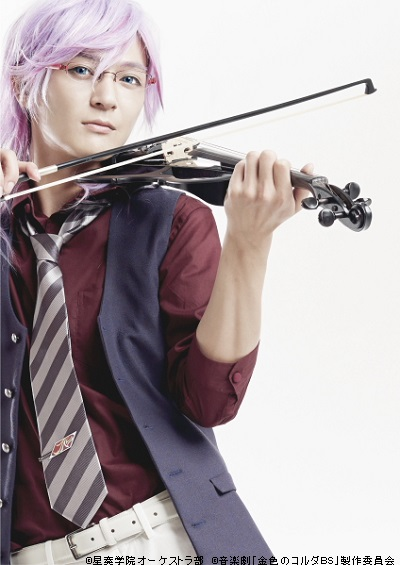 神南高校のヴァイオリン・管弦楽部副部長の土岐蓬生役・上田堪大さん