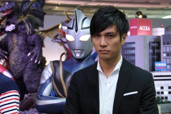 高野八誠さんとウルトラマンアグル