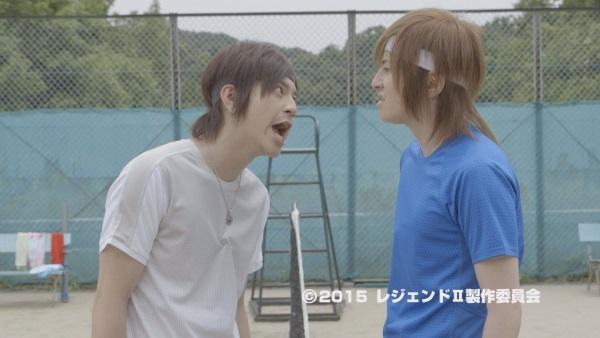 木村敦さん演じる優市(右)と永田彬さん演じる狂四郎