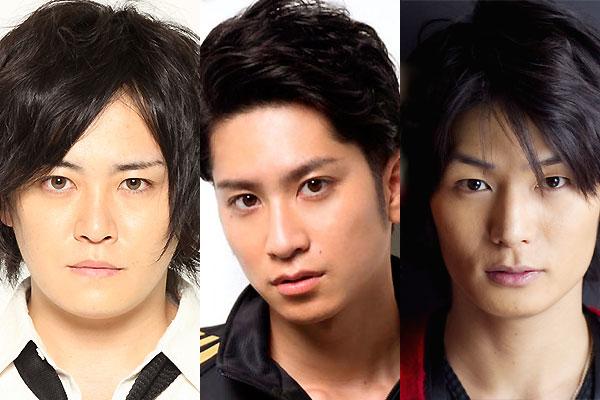 (左から)宮下雄也さん、滝口幸広さん、八神蓮さん