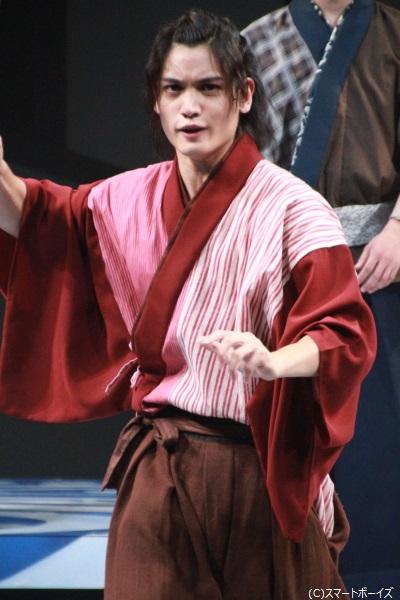 池上新太郎役の河原田巧也さん
