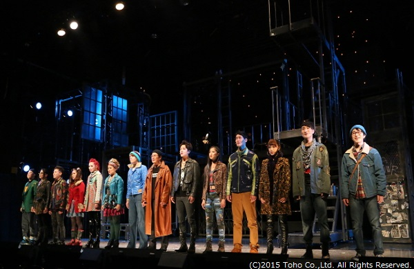 14名のキャラクターが歌い上げる、『Seasons Of Love』は圧巻!