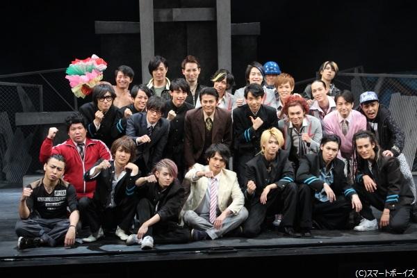 26名の男性キャストが一丸となって挑む、新感覚ヤンキーミュージカル!