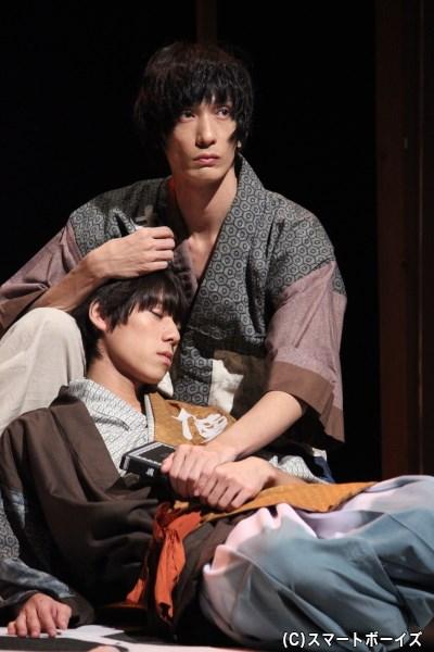 村田充さんと伊勢大貴さんの、ゆったりしたお芝居の中に漂う心地よい緊張感!