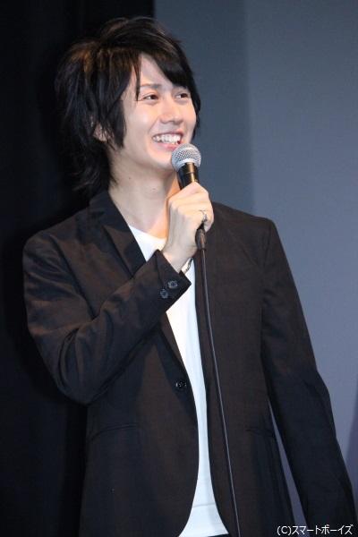 五条颯真役の太田基裕さん