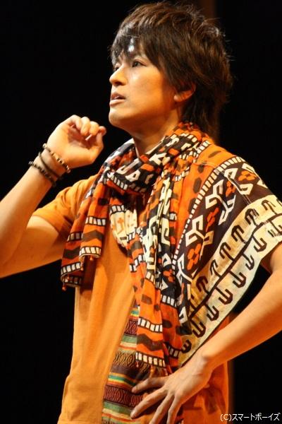 ワタルの双子の兄で、5人の従兄弟内イチの秀才・サトル役の長濱 慎さん