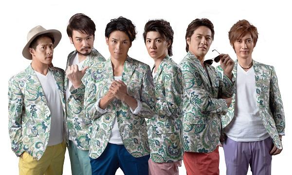 (左から)友井雄亮さん、小田井涼平さん、白川裕二郎さん、林田達也さん、酒井一圭さん、後上翔太さん