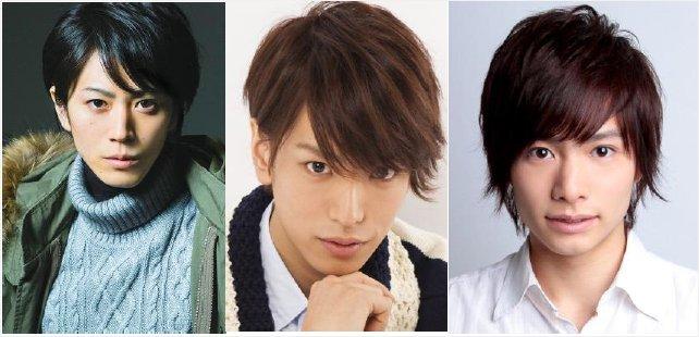 左から廣瀬智紀さん、黒羽麻璃央さん、小澤廉さん
