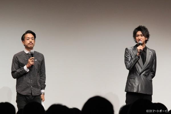 MCを担当したのは相葉さんの友人でお笑い芸人・ロングヘアーのひろた勇気さん