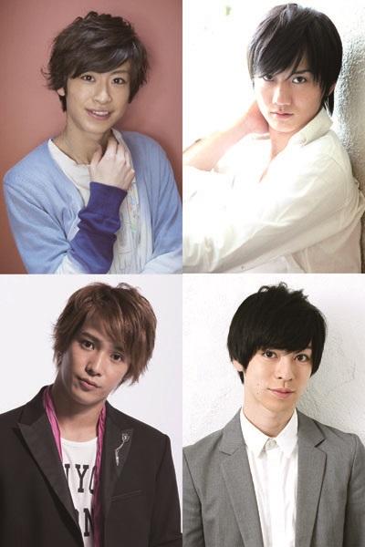 若き才能あふれる、赤澤 燈さん(左上)、西島顕人さん(右上)、味方良介さん(左下)、安川純平さん(右下)の4人が再集結!