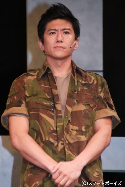 FINGER役の和田さん。アキバレッドの中の人が、満を持して公認様の作品に出演です!