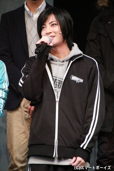 黒田賢役の斉藤さん。映画では乙女心を持った男でしたが、数年後の黒田はどうなっている?